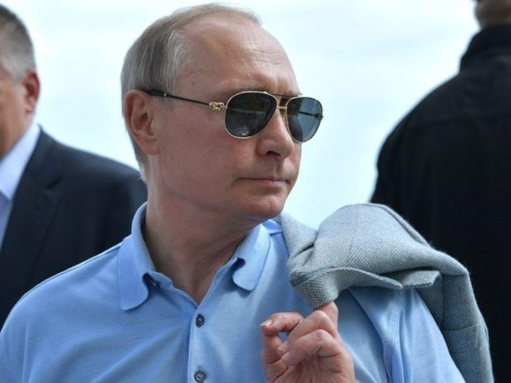 Владимир Путин прилетел на фестиваль джаза в Коктебель