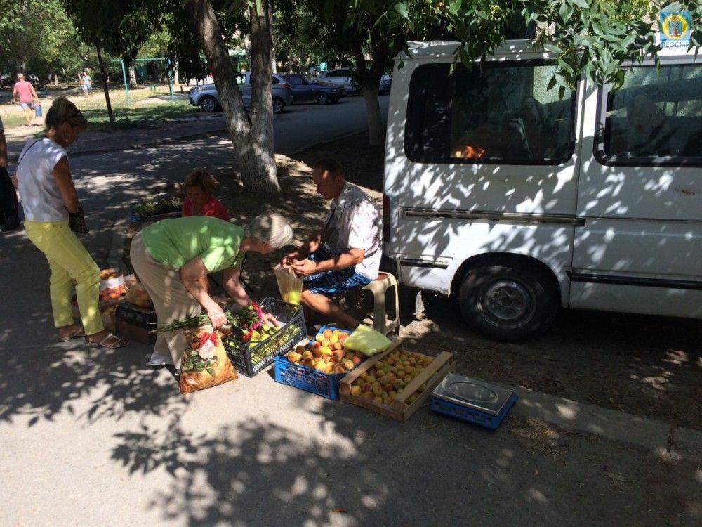 Очередная партия стихийщиков рискует поплатиться штрафами за торговлю в Феодосии