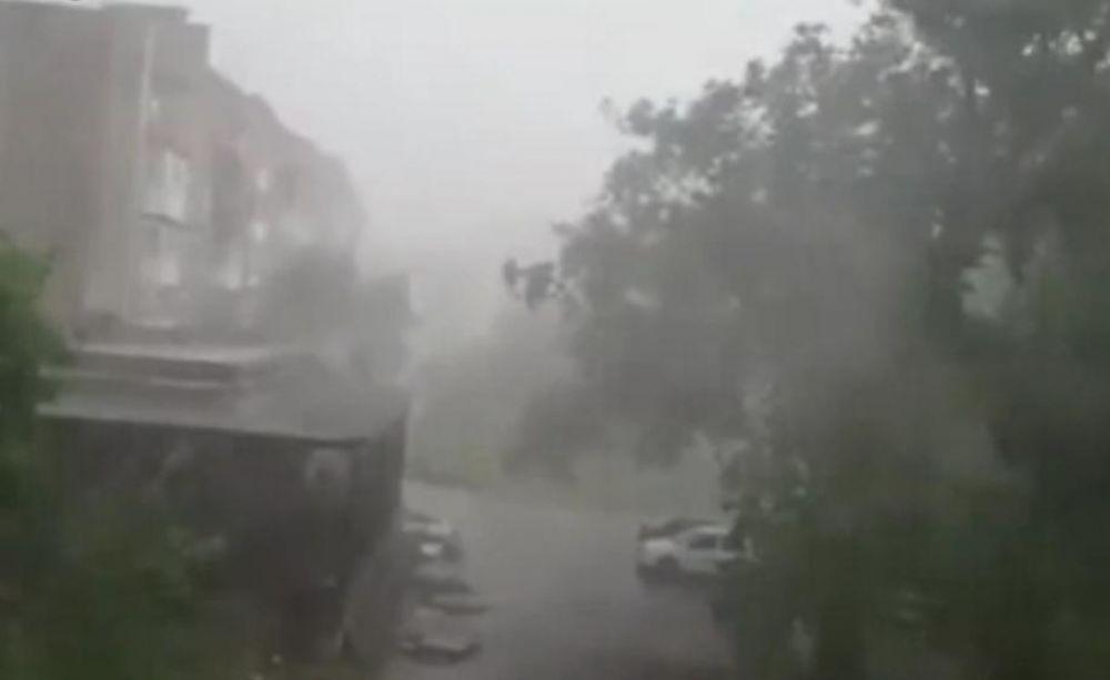 В Феодосии начали подсчитывать ущерб от непогоды