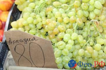 Сентябрьские цены на феодосийских рынках