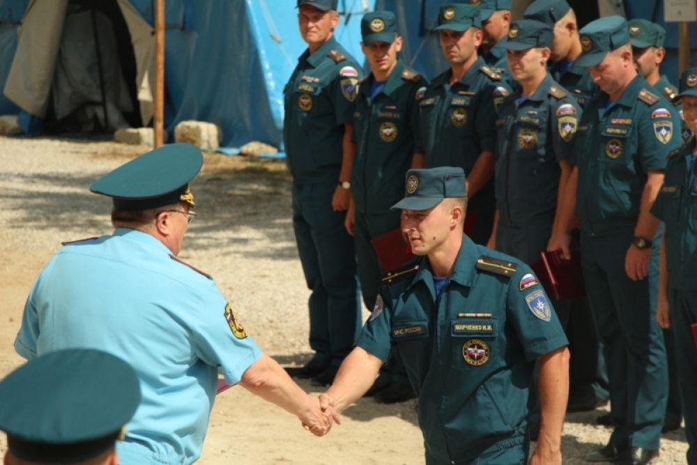 Спасатели обезвредили десятки тысяч взрывоопасных предметов на территории крепости Керчь