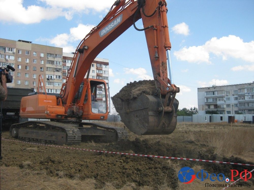Под Феодосией заложили фундамент дома для депортированных граждан