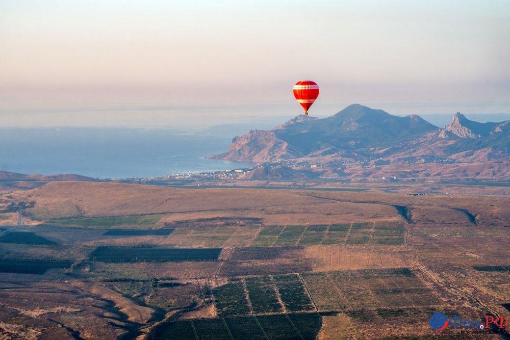 С высоты воздушного шара