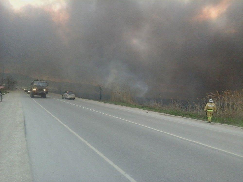 В Крыму по-прежнему пожароопасно