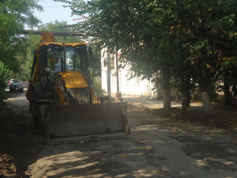 В феодосийских селах ремонтируют дороги