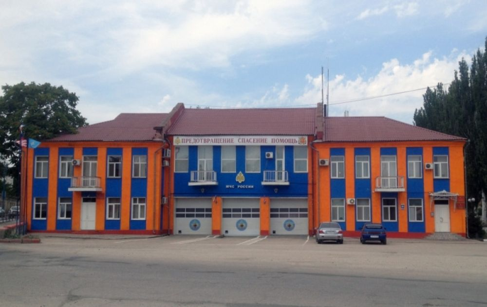 Керченская пожарно-спасательная часть стала лучшей в Крыму
