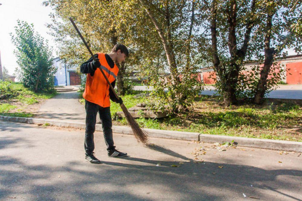 Об уборке на феодосийских улицах и во дворах