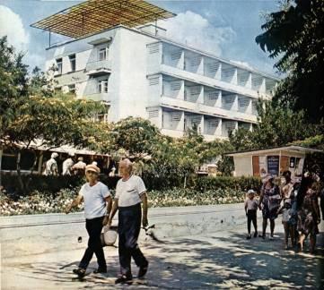 Феодосия 70-х годов прошлого века на цветных фотографиях