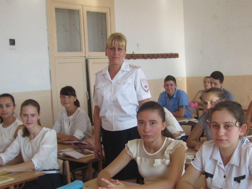 Полицейские и школьники обсудили в Феодосии аспекты противодействия терроризму