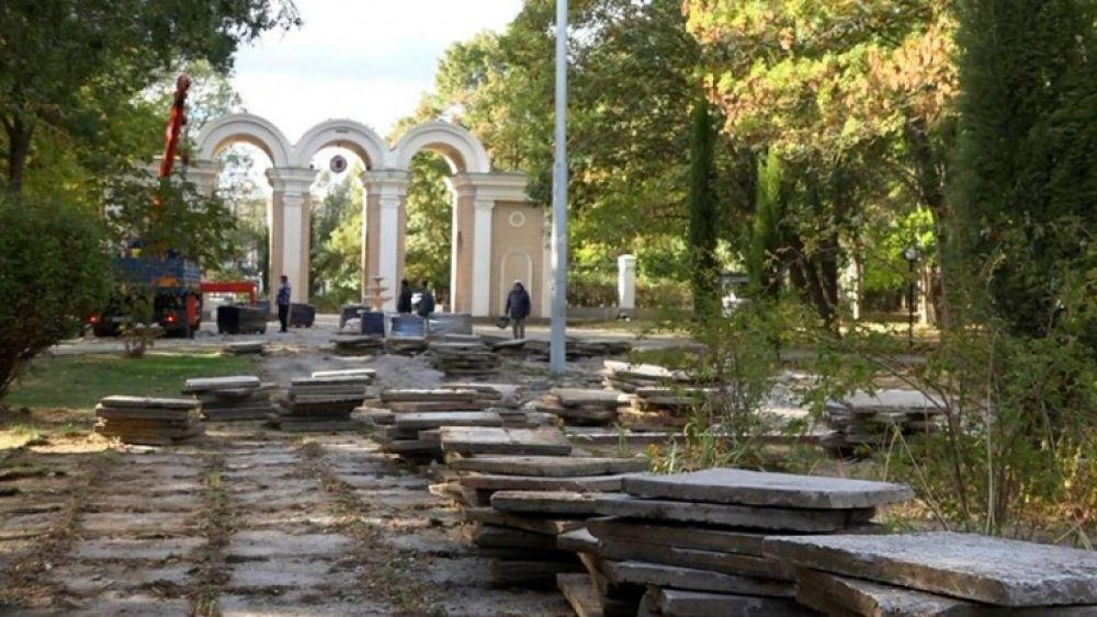 В Молодежном парке Керчи хотят разместить детскую и спортплощадки