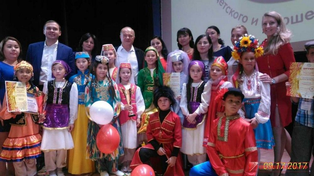Керчане заняли первые места в конкурсе «Земля талантов» в Москве