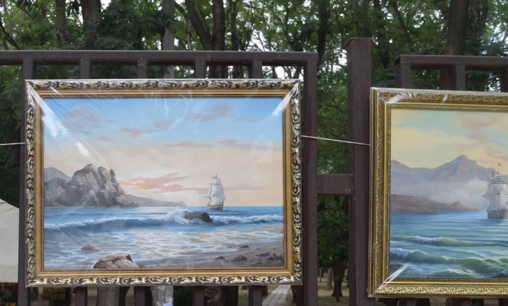 Галерея под открытым небом