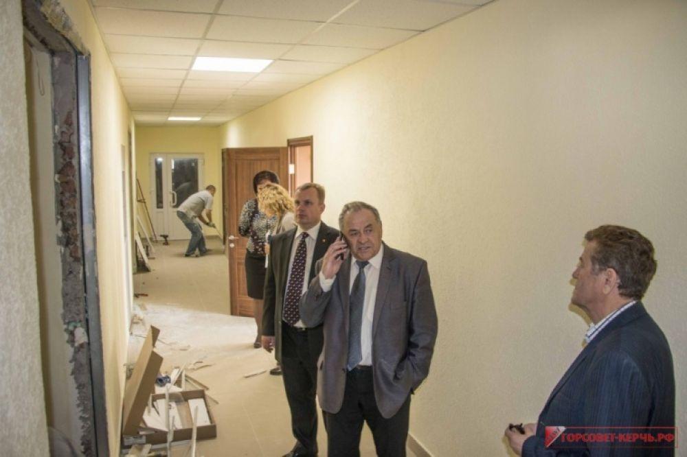 В Керчи затягивают ремонт помещений для мировых судей
