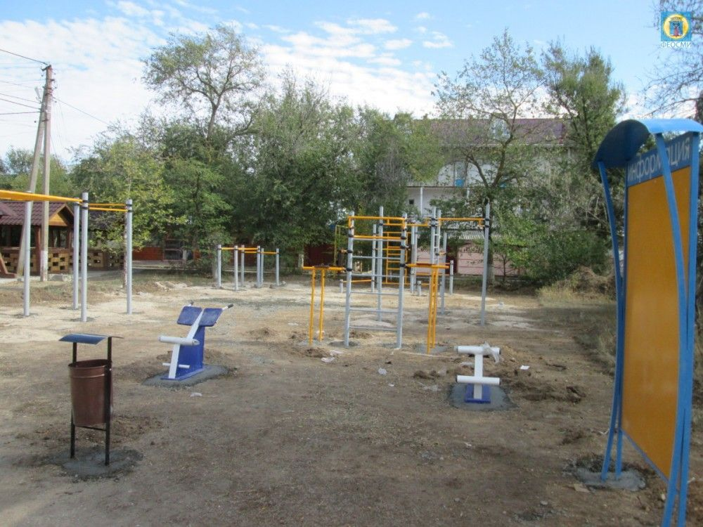 Семь спортплощадок для подготовки к ГТО в Феодосии