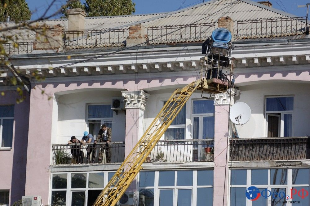 Феодосия превратилась в Бартовск: здесь снимают семейную сагу