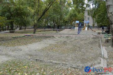 В Феодосии до конца месяца установят новые детские площадки