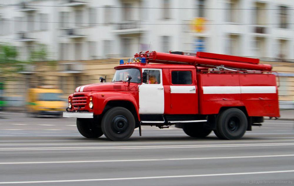 В Керчи горела детская площадка