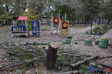 В Морсаду Феодосии завершаются работы по установке новой детской площадки
