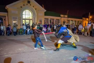 В Феодосии прошел рыцарский турнир, выставка доспехов и мастер-классы