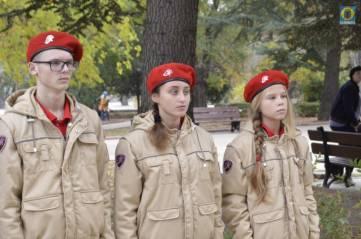 Феодосийские юнармейцы приняли присягу (ФОТО)
