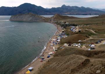 Спецплощадки под автокемпинги  у моря могут появиться в Феодосии в следующем году