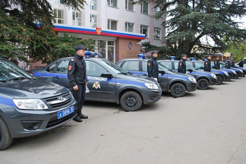 Феодосийские росгвардейцы получили новый патрульный автотранспорт