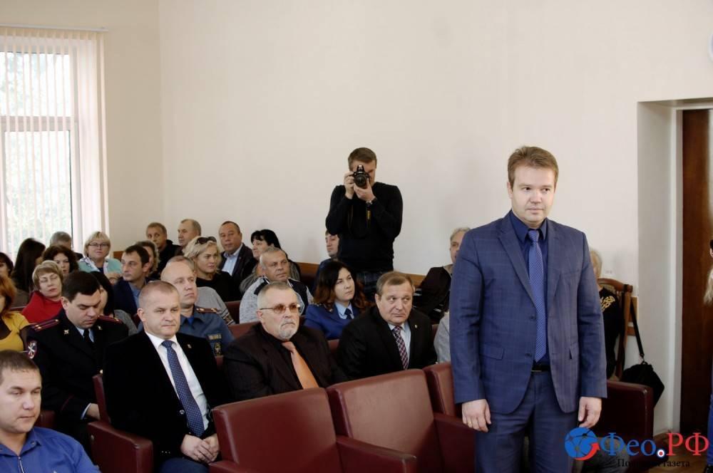Константин Бабенко. Новый заместитель главы администрации Феодосии