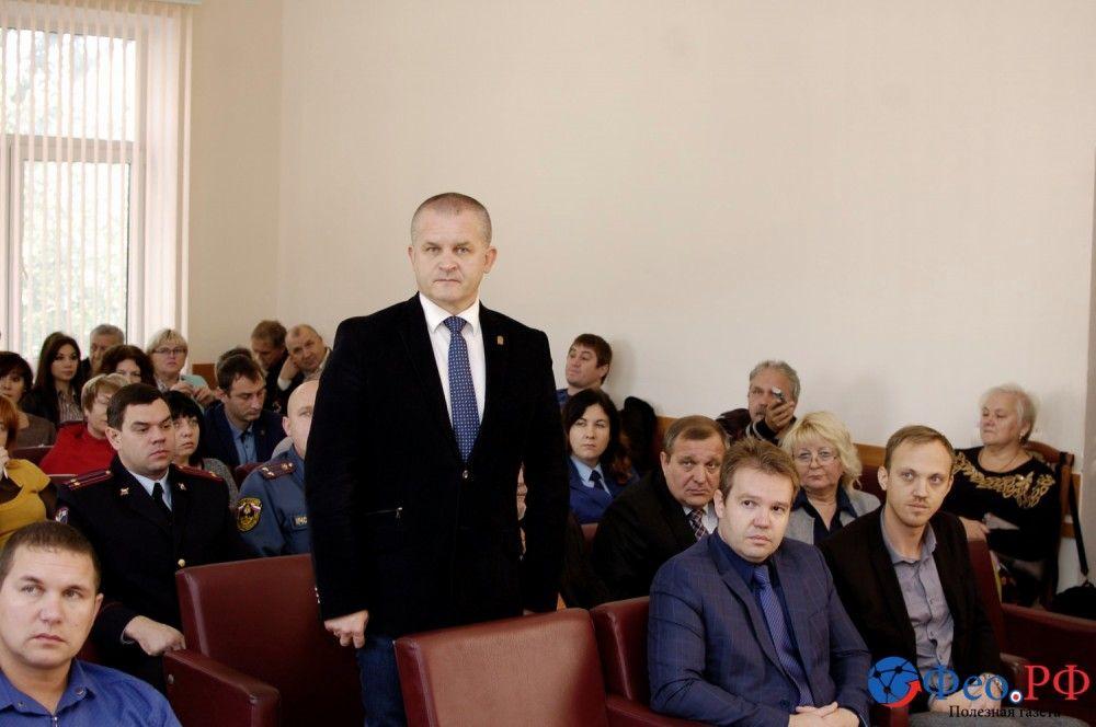 Игорь Заикин. Новый первый заместитель главы администрации Феодосии