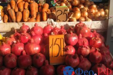 Цены на двух феодосийских рынках