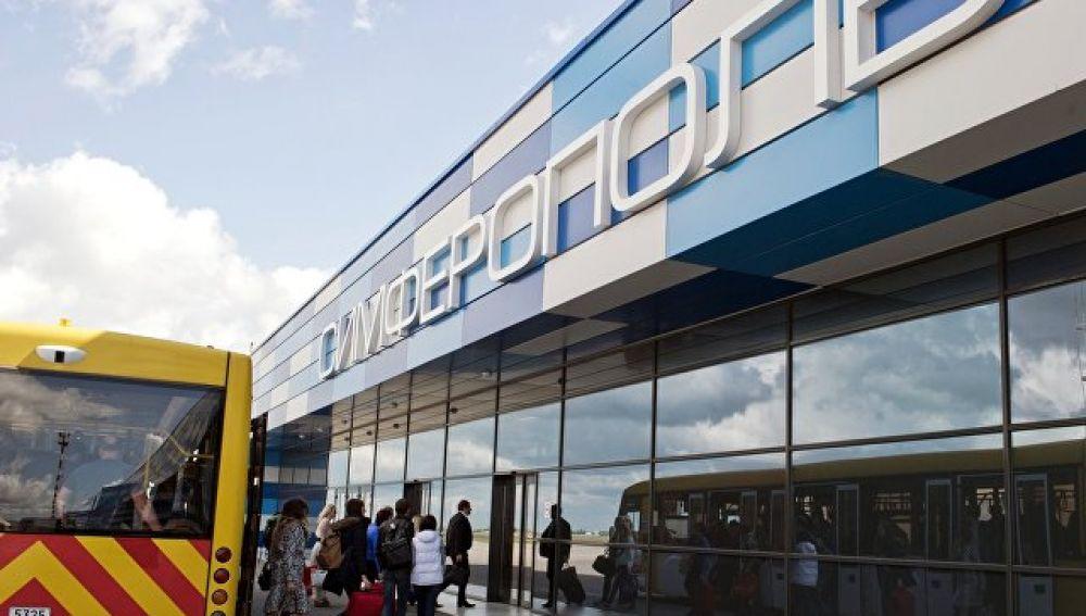 Керченская переправа и аэропорт Симферополь усилили меры безопасности