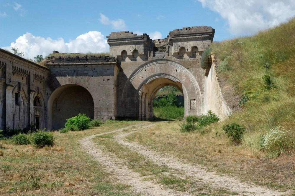 Крепость Керчь получит новую подъездную дорогу