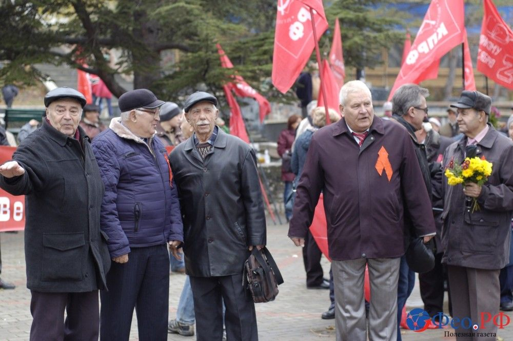 Столетие революции в Феодосии