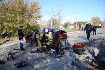 Полиция возбудила уголовное дело по факту смертельного ДТП под Керчью
