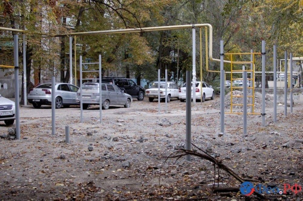 Феодосийские депутаты признали недостаточной работу по установке спортивных площадок