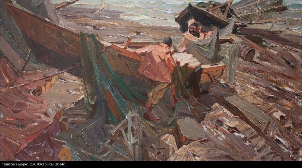 Работы художника Владимира Куца впервые выставят в картинной галерее Керчи