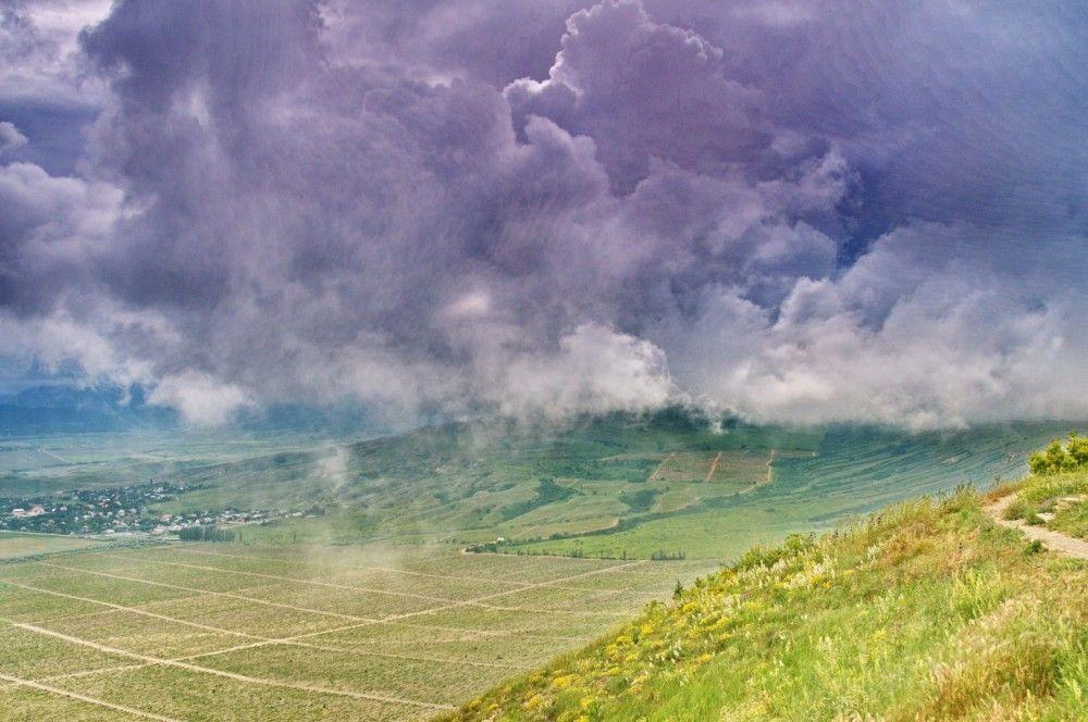 Полет облаков