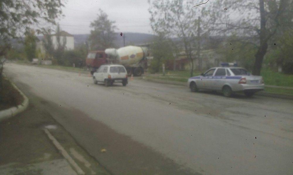 Пожилой пешеход пострадал под колесами Камаза  в Феодосии