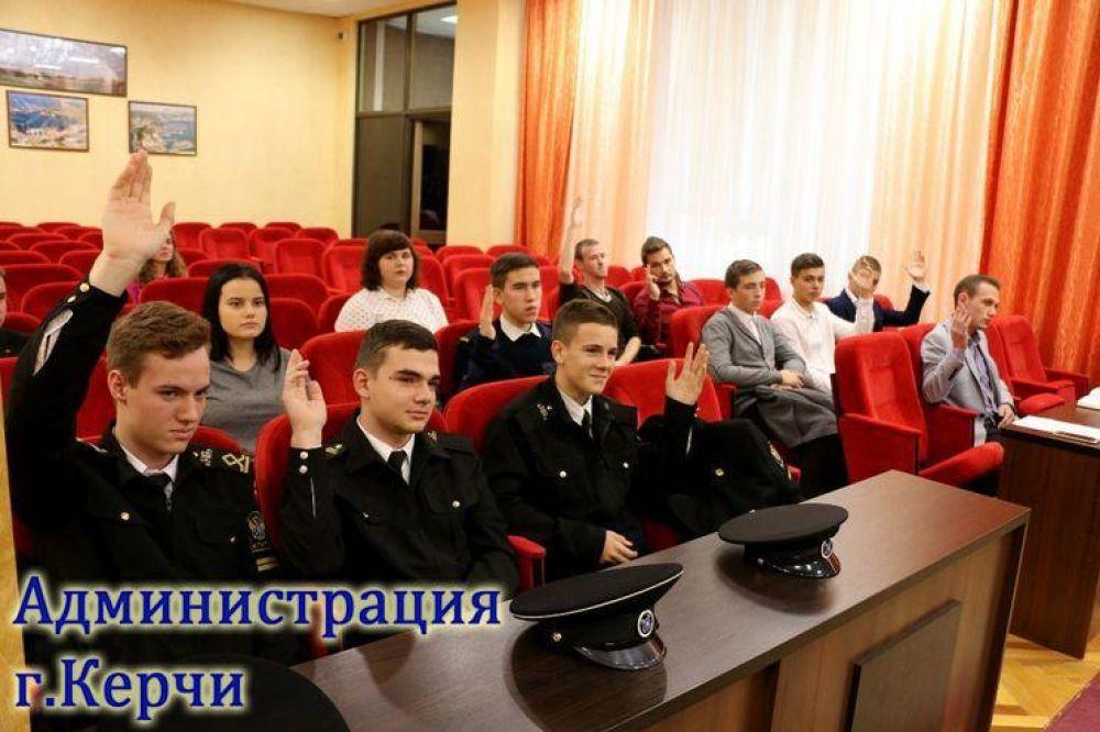 Молодежный совет Керчи провел первое заседание