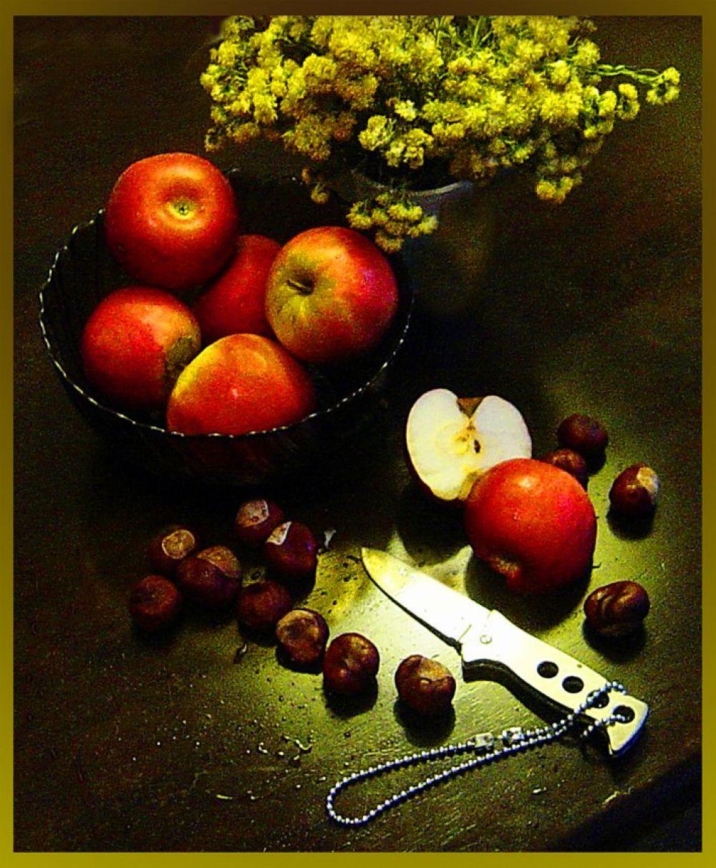 Яблоки и тени