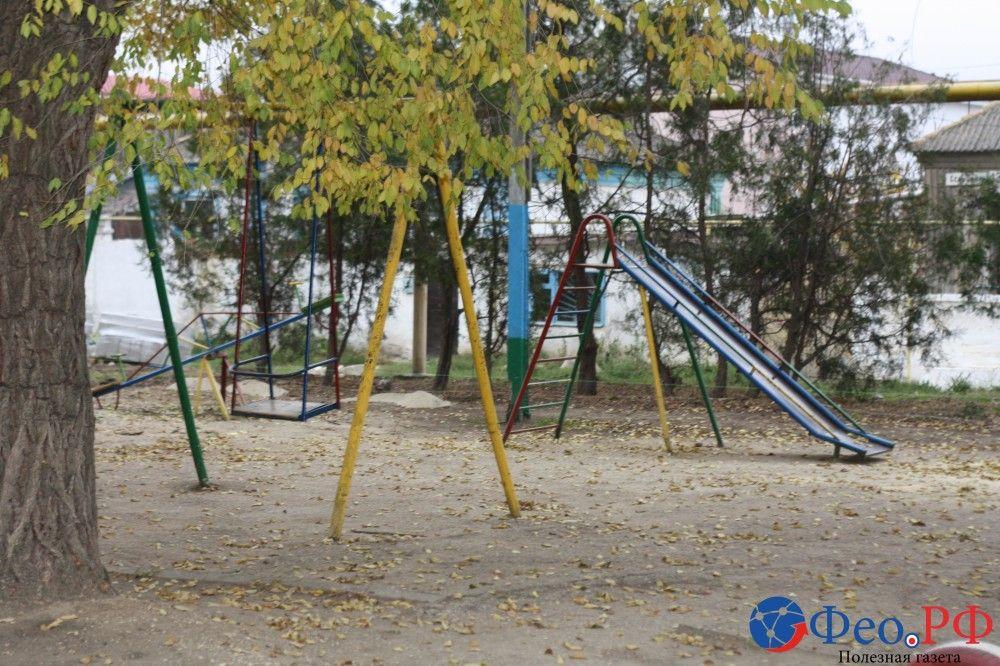В Феодосии начались работы по благоустройству двора