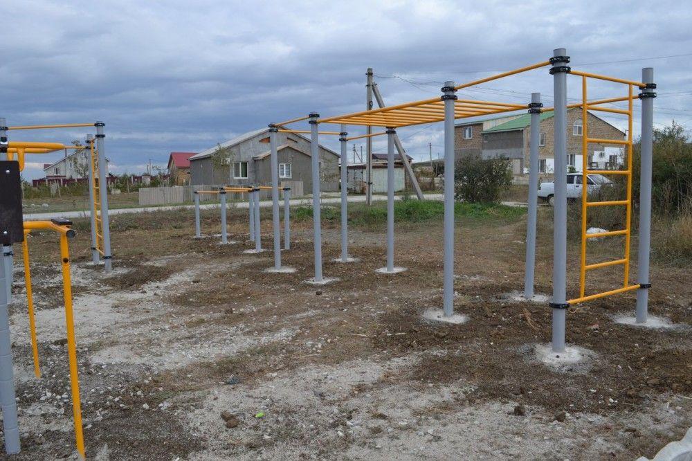 Проверка выявила нарушения в установке новой спортплощадки в Насыпном