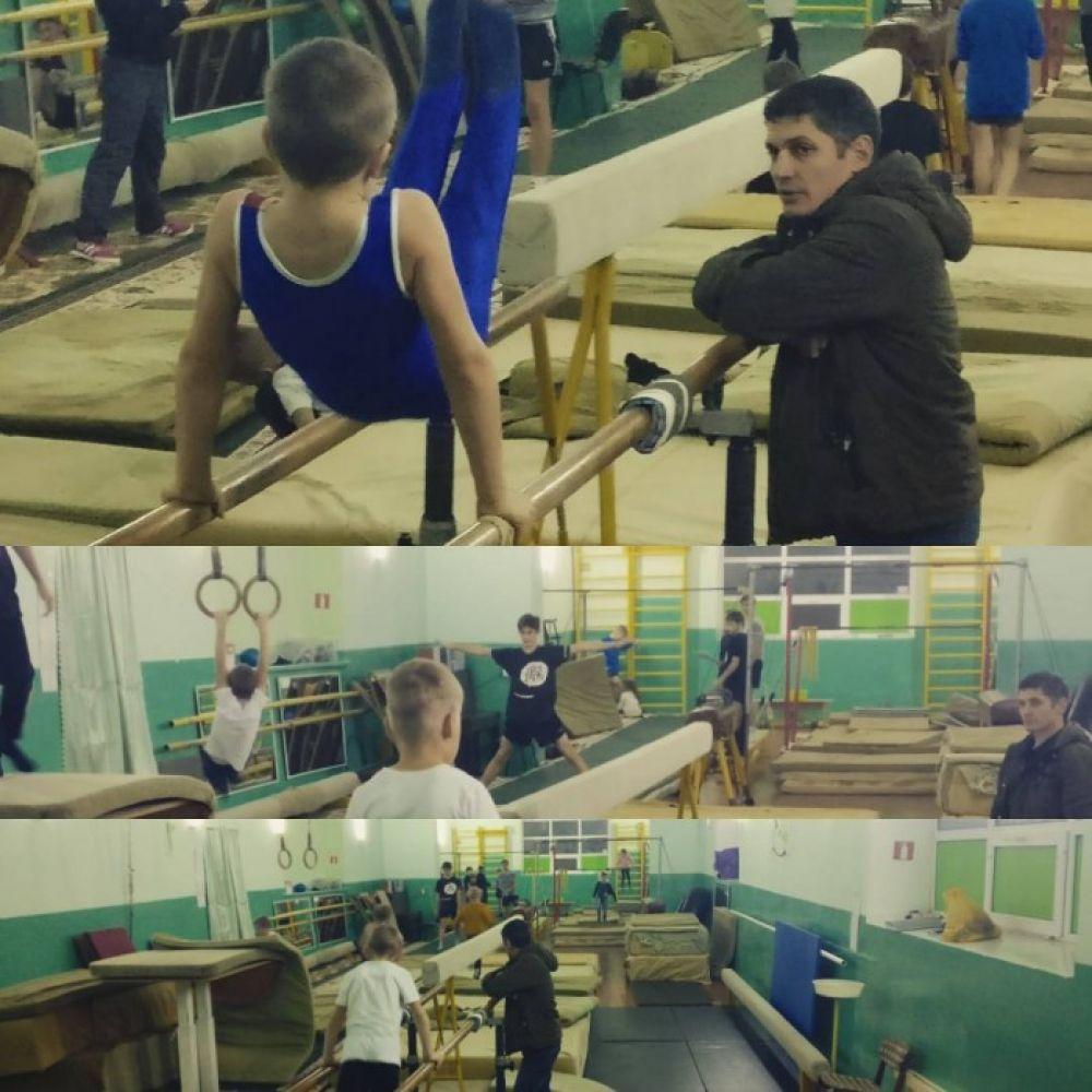 Спартанские условия спортшколы