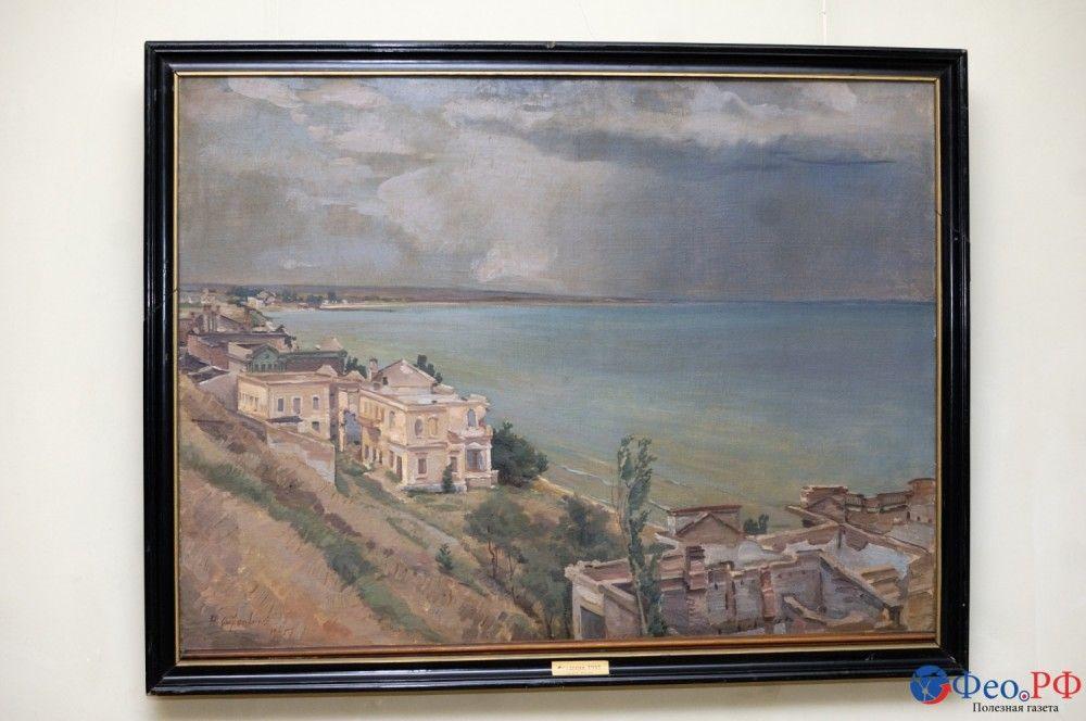 В Феодосии выставкой отметили 125-летие со дня рождения Николая Барсамова
