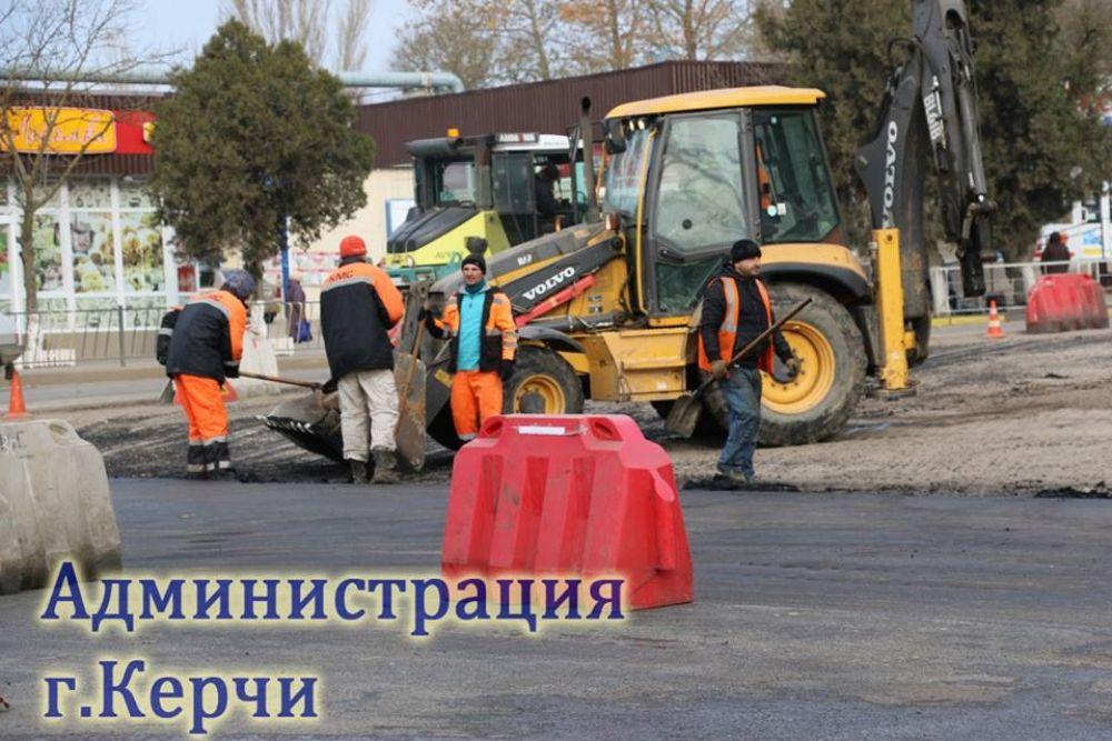 В Керчи продолжает ремонт дороги по улице Орджоникидзе (ФОТО)
