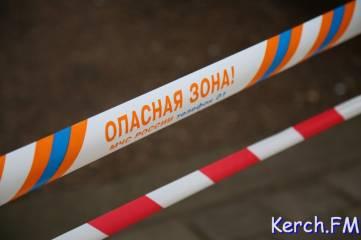В Керчи рухнуло одно из зданий морского технологического университета (ФОТО+ВИДЕО)
