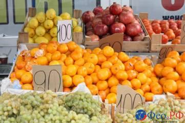Зимние цены на феодосийских рынках