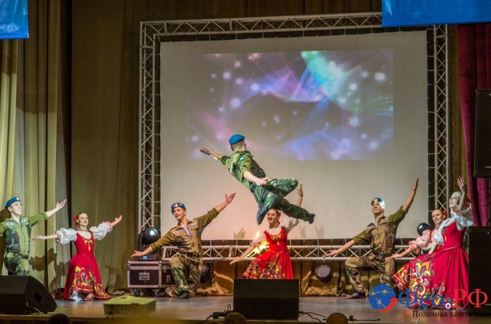 Праздничный концерт, посвященный образованию в Феодосии батальона