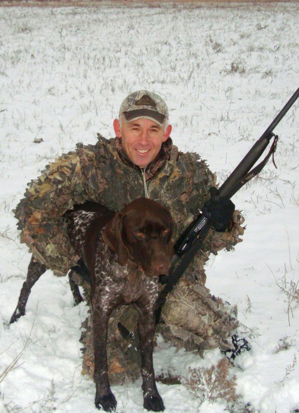 Охотники против крымских волков