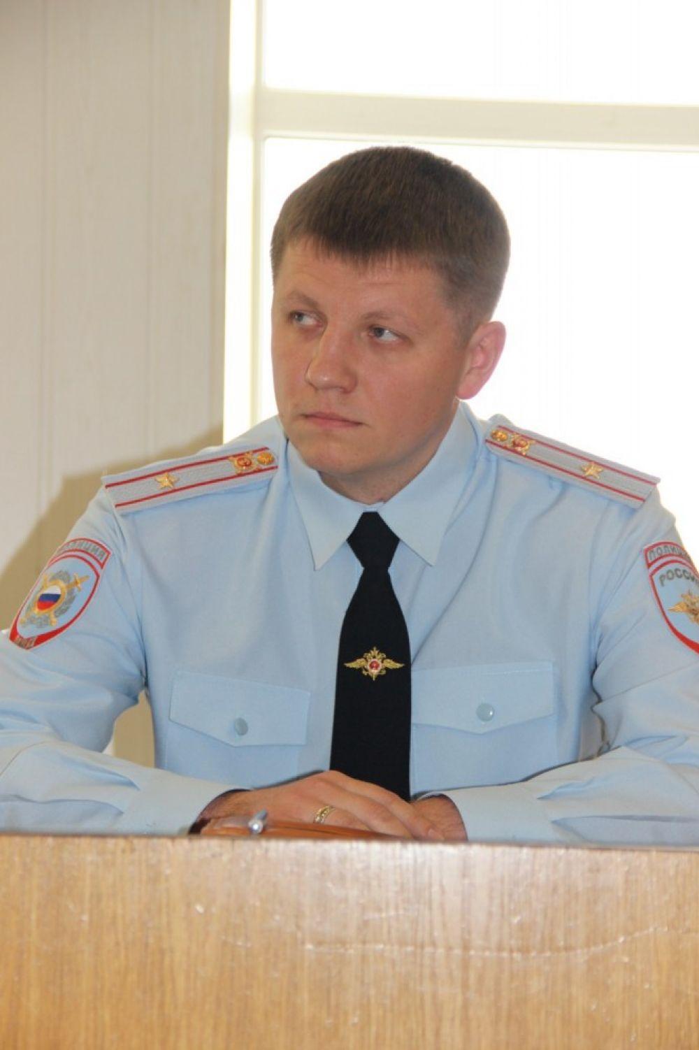 Идет запись к начальнику феодосийской полиции