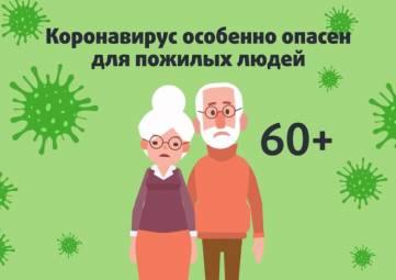 Как снизить риск заражения новой коронавирусной инфекцией для людей старше 60 лет (видео)